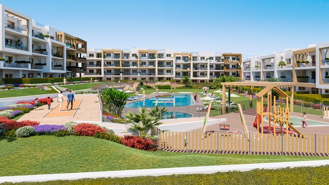 New apartment with 3 bedrooms in a gated complex with swimming pool - 8