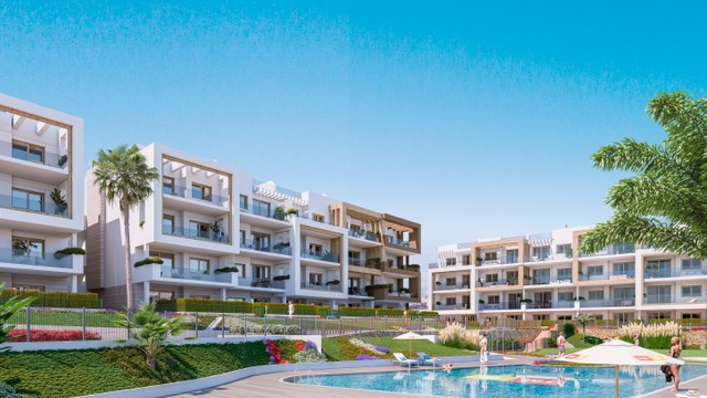 New apartment with 3 bedrooms in a gated complex with swimming pool - 9