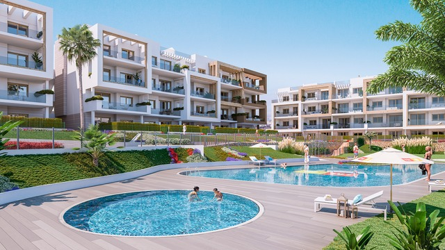 New apartment with 3 bedrooms in a gated complex with swimming pool - 7