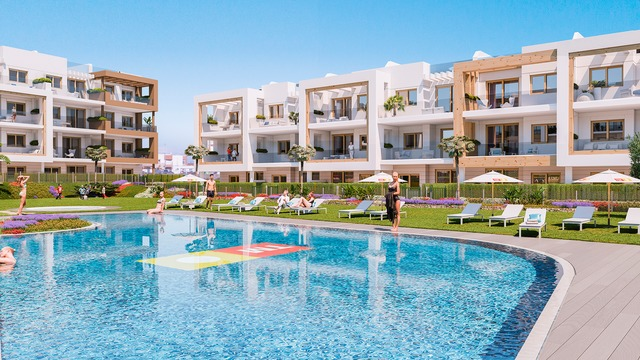 New apartment with 3 bedrooms in a gated complex with swimming pool - 6