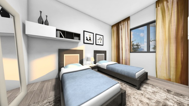 Modern two bedroom apartment in a new complex - 10