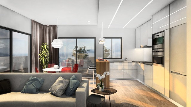 Modern two bedroom apartment in a new complex - 1