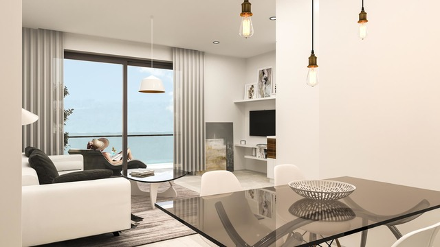 Apartments in a new complex by the sea - 1