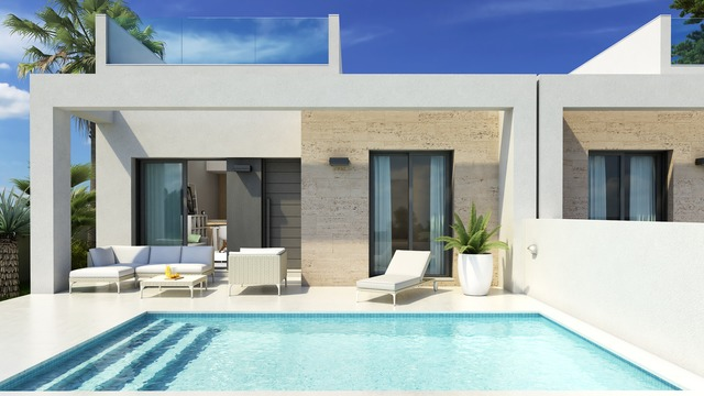 Spacious sunny pool villa - 1