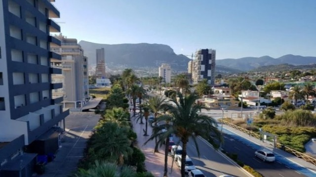 Apartment with sea view in Calpe - 1